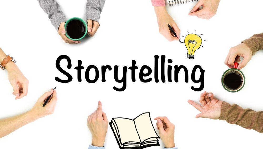storytelling copertina